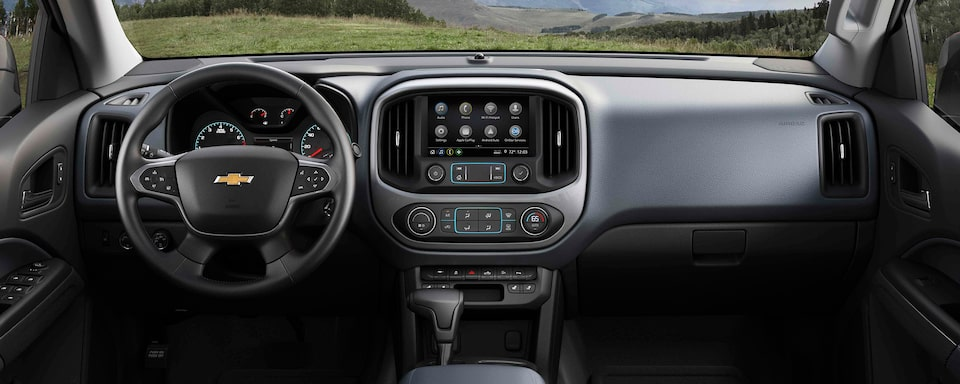 2021 Chevrolet Colorado Interior View: Dashboard & Seats