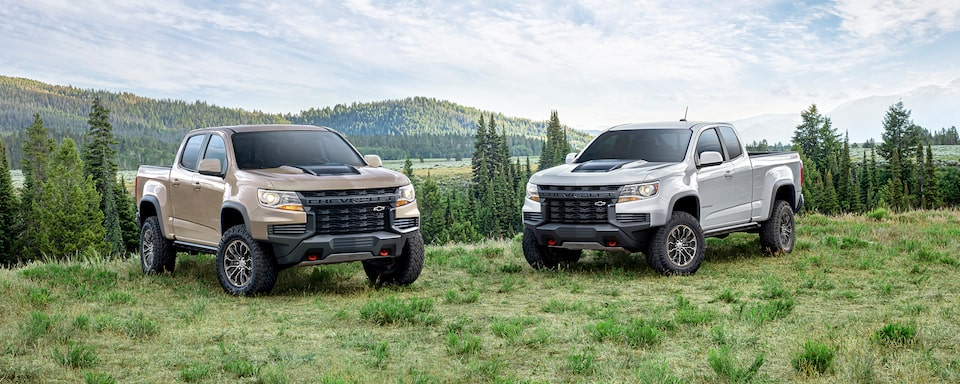 2021 Chevrolet Colorado ZR2 Wide Angle View
