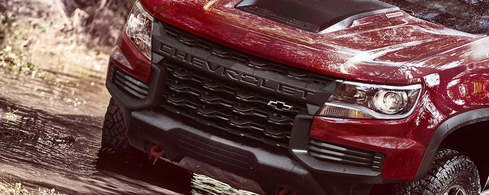 2021 Colorado ZR2 Truck Grille Close-Up