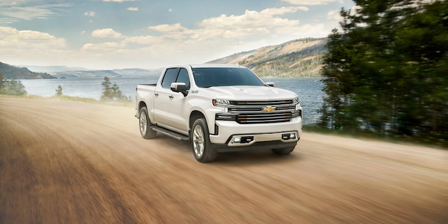 2021 Silverado 1500 Pickup Truck Exterior Off Road View