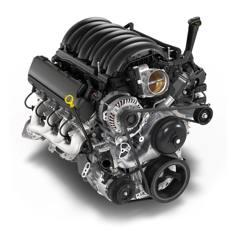 6.2L V8 Engine Icon