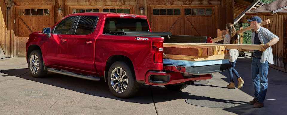 2021 Silverado 1500 Pickup Truck Bed View