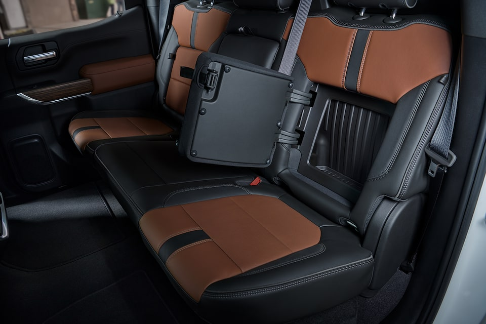 2021 Silverado 1500 Pickup Truck Interior Features: Rear-Seat Storage