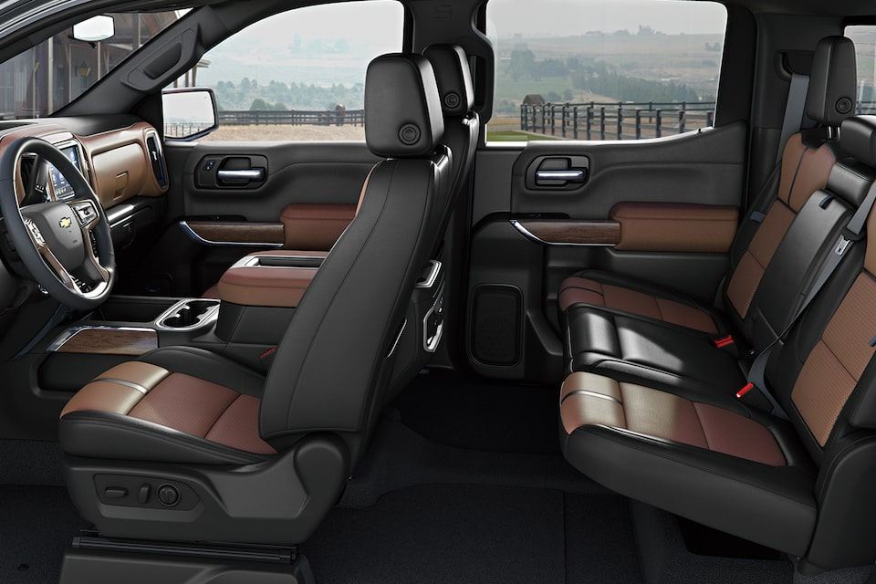 2021 Silverado 1500 Pickup Truck Interior Features: Seating View