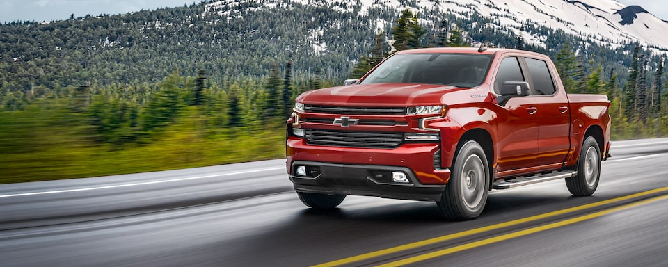 2021 Silverado 1500 Pickup Truck Front Side View
