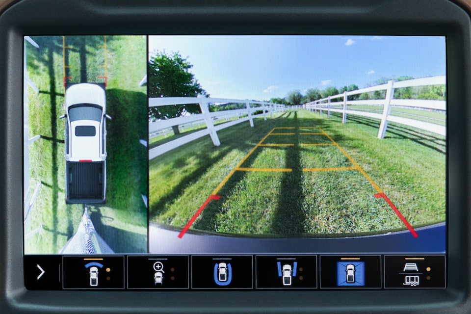 2021 Silverado 1500 Pickup Truck Camera Views