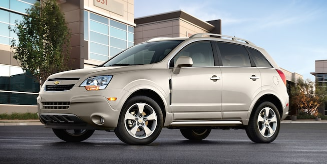 Discontinued Vehicles: Captiva