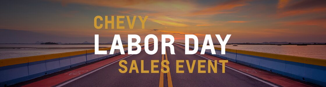 Chevy Labor Day Sales Event