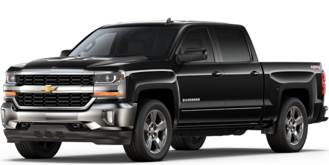 Truck Month Offers: 2018 Silverado 1500 Crew Cab LT