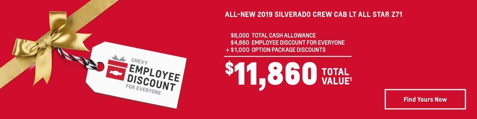 All-New Silverado: $11,860 Total Value