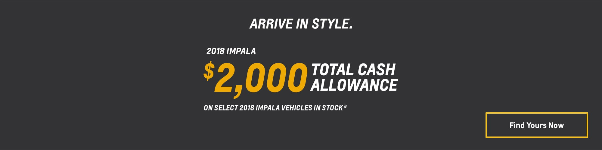 2018 Impala Full-Size Car Deals and Offers