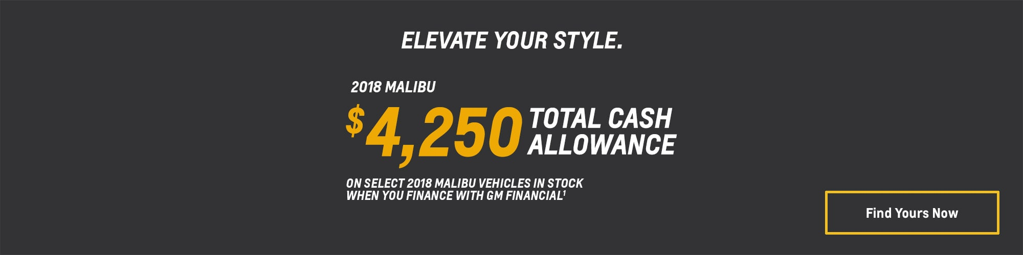 2018 Malibu Mid-Size Car Deals and Offers