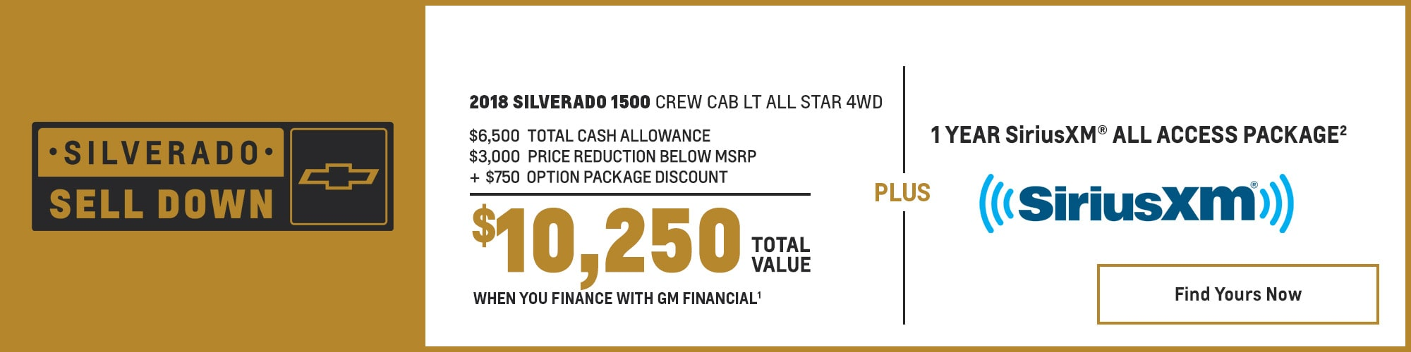 2018 Silverado 1500 Pickup Truck Deals and Offers