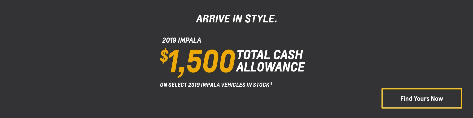 2019 Impala Full-Size Car Deals and Offers