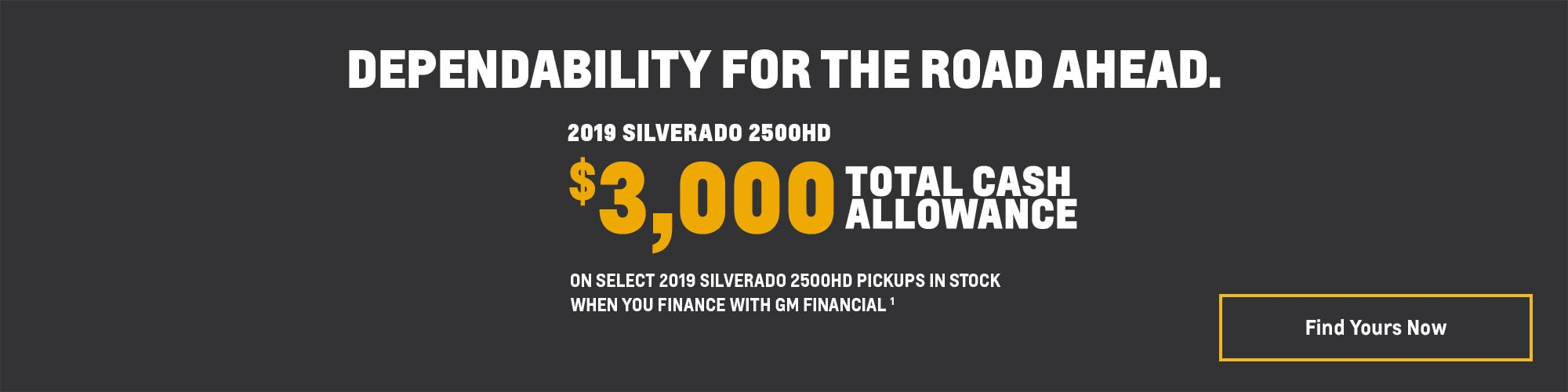 2019 Silverado 2500HD Pickup Truck Deals and Offers