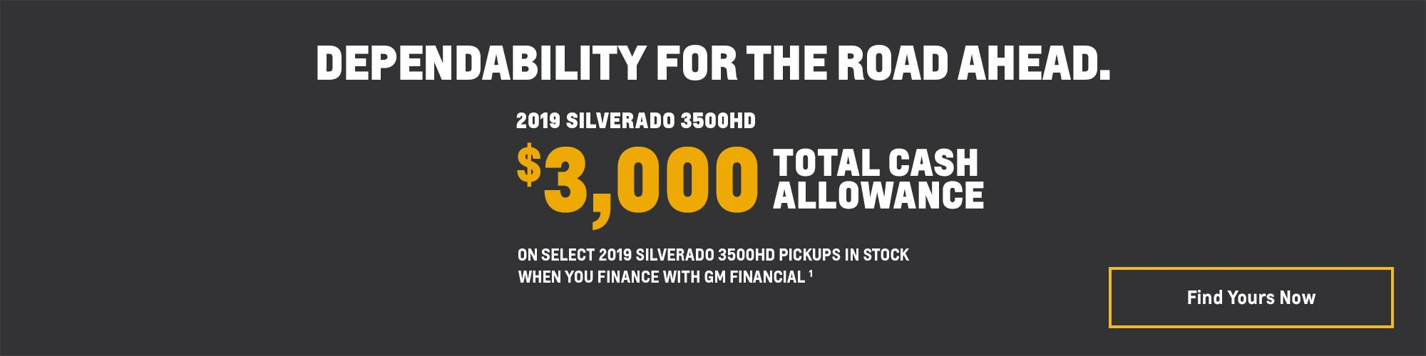 2019 Silverado 3500HD Pickup Truck Deals and Offers