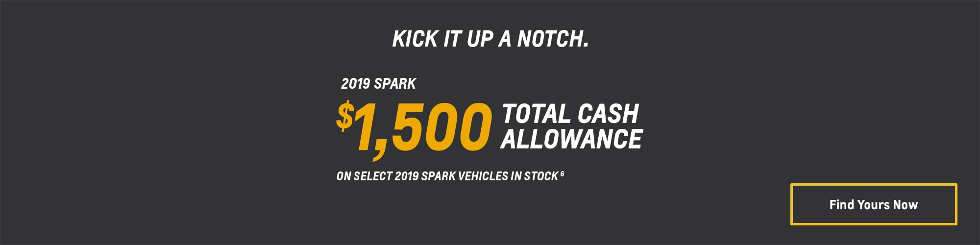 2019 Spark Subcompact Car Deals and Offers