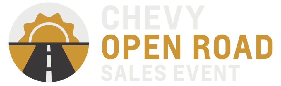 Chevy Open Road Sales Event