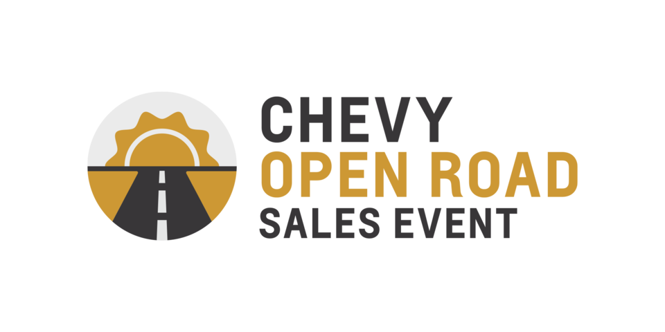 Chevy Open Roads Sales Event