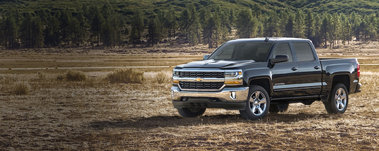 Dependability for the road ahead: 2018 Silverado 1500 Crew Cab LT
