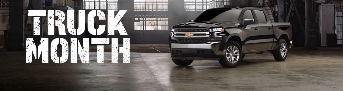 Chevy Truck Month Logo