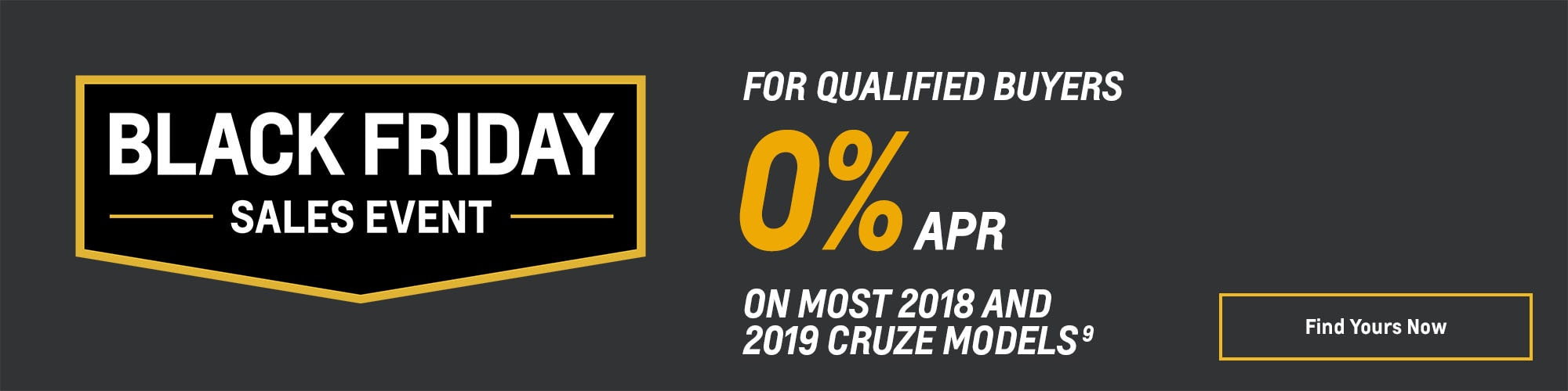 Black Friday Chevy Deals and Offers: Cruze 0% APR