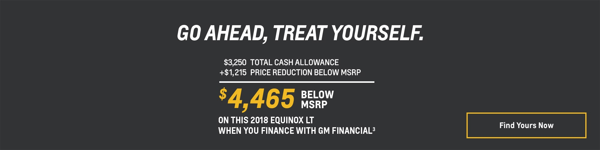 2018 Equinox - $4,465 Below MSRP