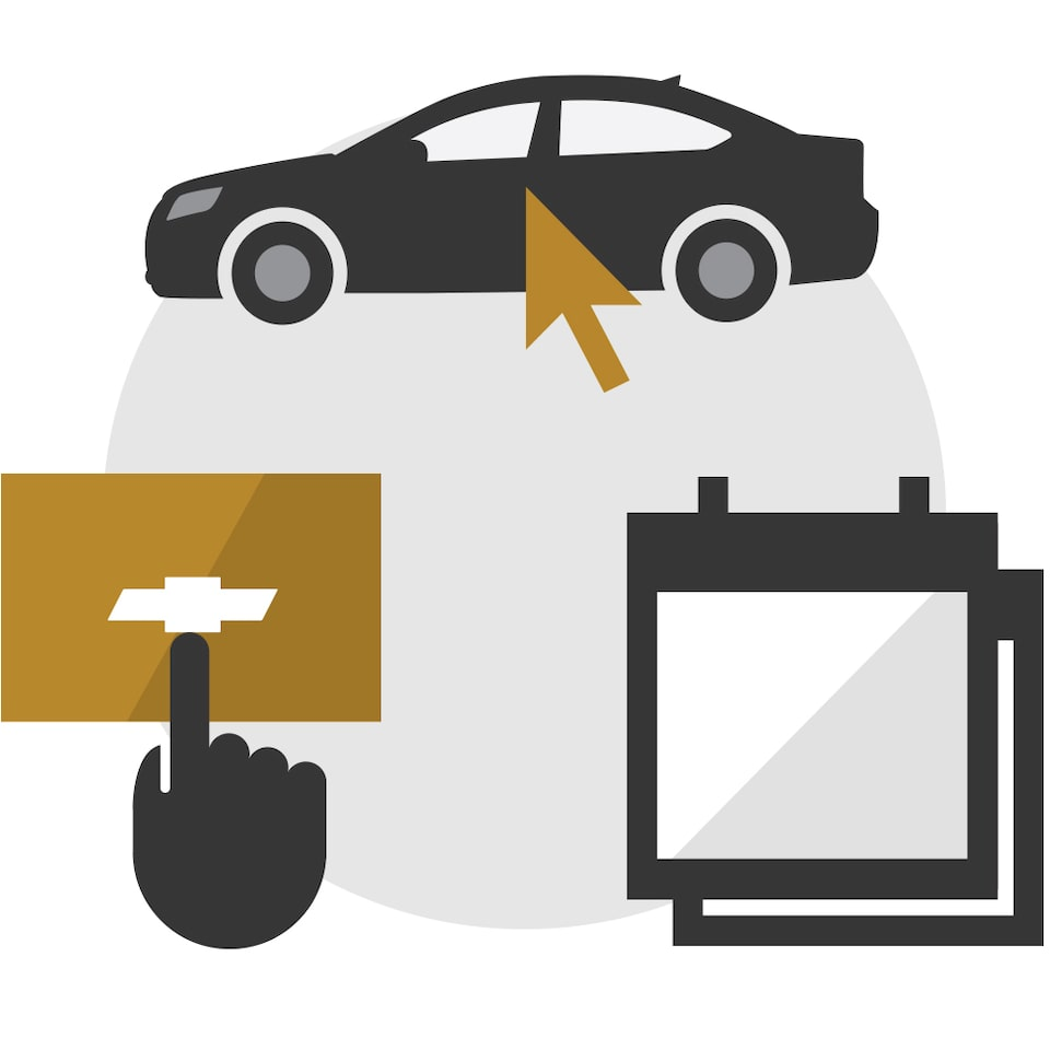 Shop Click Drive Icon