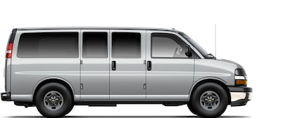 2017 Express Commercial Passenger Van