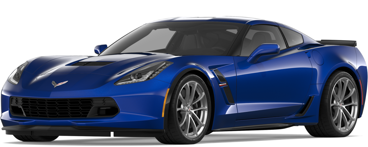 2019 Corvette Grand Sport Super Car: Side.
