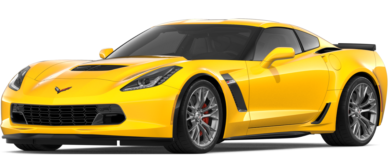 2019 Corvette z06 Sports Car: Side
